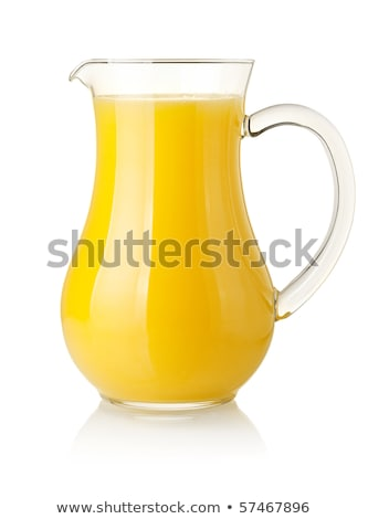 orange · jus · isolé · blanche · fruits - photo stock © frannyanne