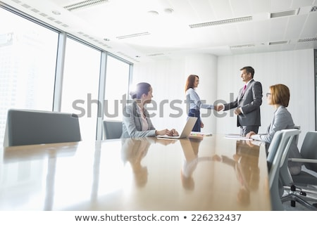 25 Business Handshakes Stock photo © PokerMan