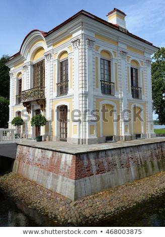 The Hermitage Pavilion in the Lower Garden Peterhof Stock photo © Pilgrimego