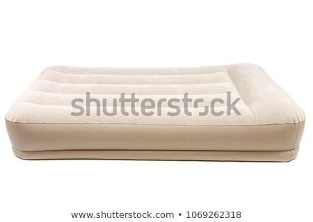 空気 マットレス 孤立した 水 ベッド ピンク ストックフォト © ozaiachin