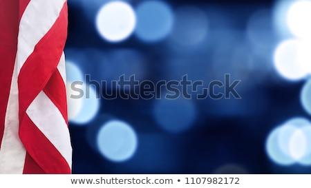 флаг · Соединенные · Штаты · день · окрашенный · щетка - Сток-фото © irisangel