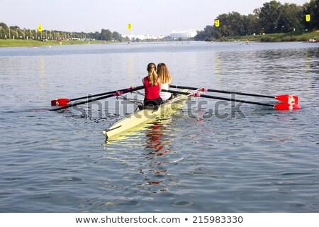 remo · regata · cuatro · barco · completo · velocidad - foto stock © smuki