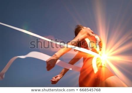 Winning The Race Stock photo © Lightsource