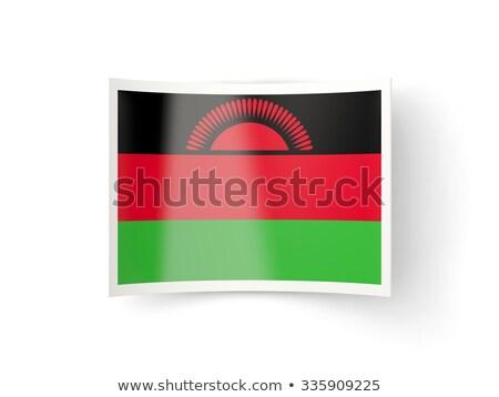 икона флаг Малави изолированный белый стране Сток-фото © MikhailMishchenko