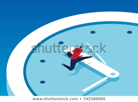 Course temps urgent date limite stress affaires Photo stock © Lightsource