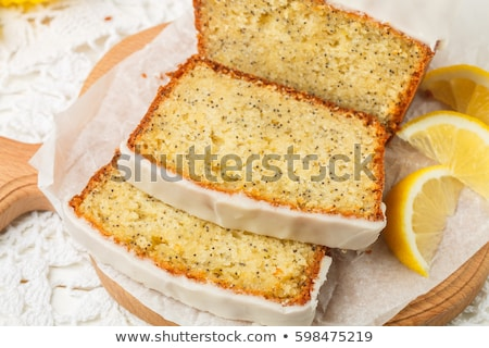Loaf with poppy seeds Stock photo © frescomovie