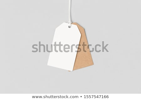 Blank sale tags mock up Stock photo © pakete