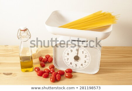 spaghetti and scale stock photo © Antonio-S