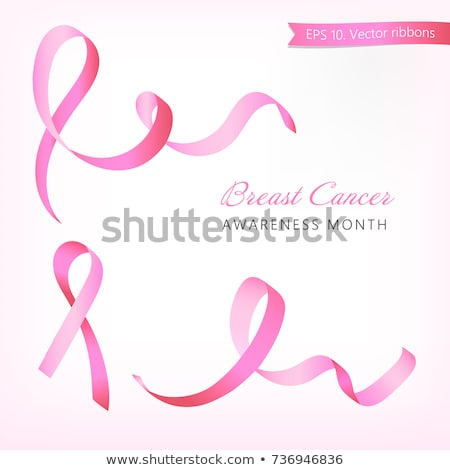satin breast ribbon set eps 10 stock photo © beholdereye