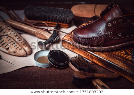Stock photo: vintage shoemaker awl