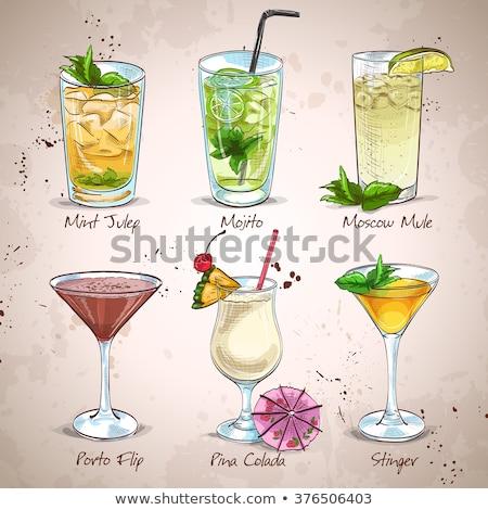 New Era Cocktail Set Stock photo © netkov1