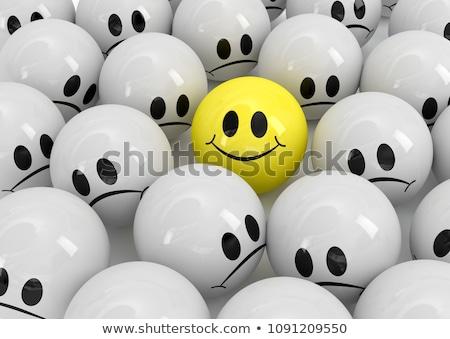 Optimistisch positief psychologie succes denken persoon Stockfoto © Lightsource