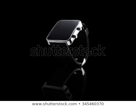 electronic wristwatch with empty black screen stock photo © cherezoff