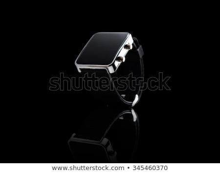 Electronic wristwatch with empty black screen Stock photo © cherezoff