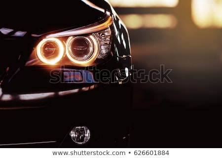 Modern fast car close-up background. Luxury, expensive Stock photo © photocreo