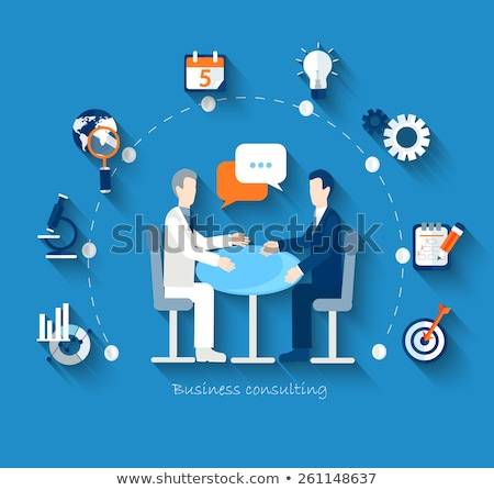 Conduct of business negotiations. Stock photo © RAStudio