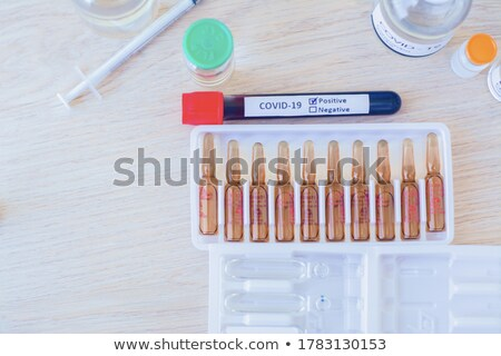 A topview of a medicinal tube Stock photo © bluering