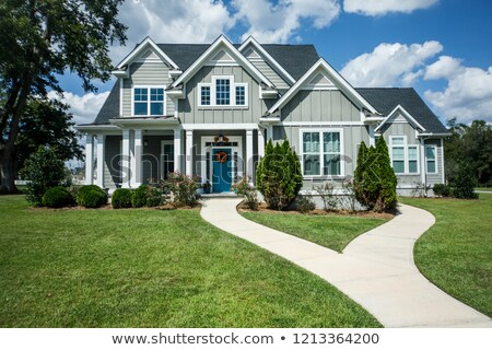 A big grey house Stock photo © bluering