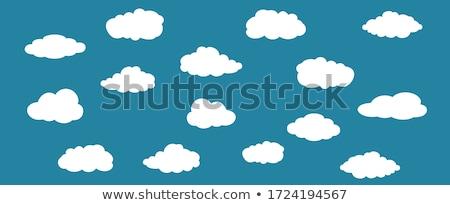 toplama · farklı · hava · durumu · simgeler · su · bahar - stok fotoğraf © bluering