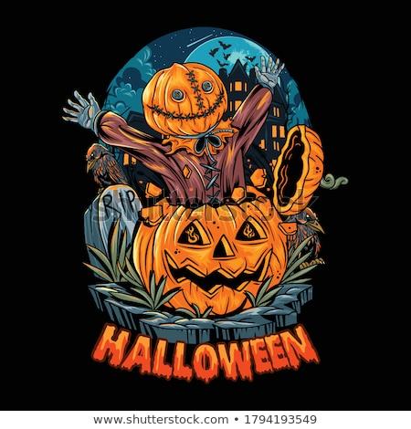 Spooky Zombie Stock photo © blamb