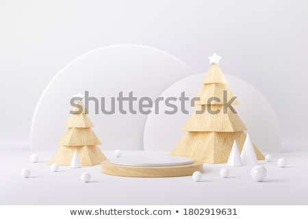 Festive Christmas still life with tree ornaments Stock photo © ozgur
