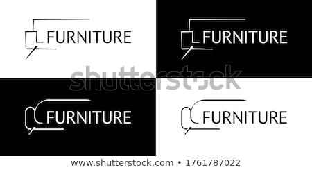 Logo illustrazione bianco business abstract Foto d'archivio © get4net