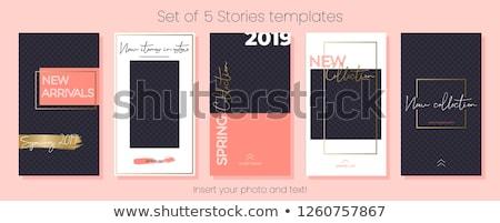 весны продажи объявление шкатулке баннер Сток-фото © timurock