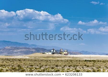 öreg gyár sivatag halál völgy elágazás Stock fotó © meinzahn