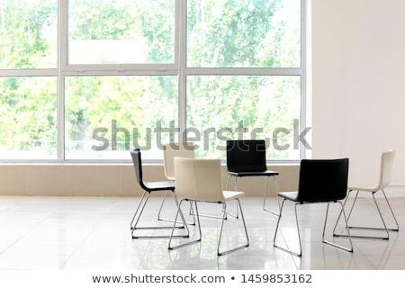 группа терапии стульев 3d визуализации образование Сток-фото © albund
