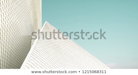 крыши · плитка · Blue · Sky · домой · лет - Сток-фото © simply