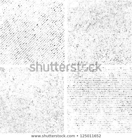 Foto stock: Grunge · monocromático · vintage · textura · conjunto · vetor
