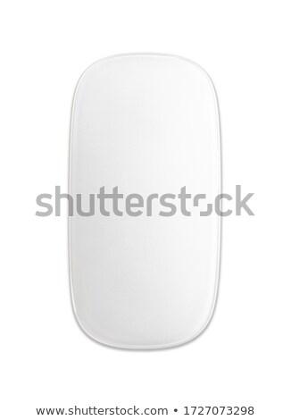 fekete · érintés · drótnélküli · modern · számítógép · egér · izolált - stock fotó © restyler