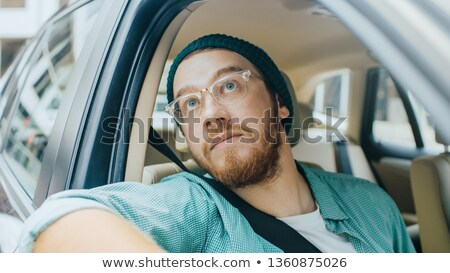 Artistic emotional portrait. Stock photo © lithian