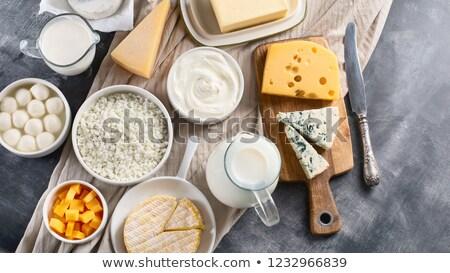 сыра молоко можете здорового опасный Сток-фото © klsbear
