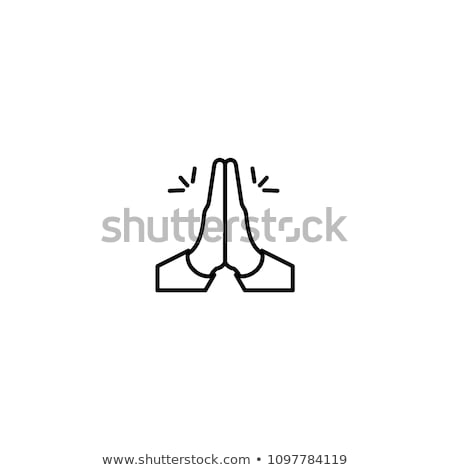 prayer hands stock photo © olena