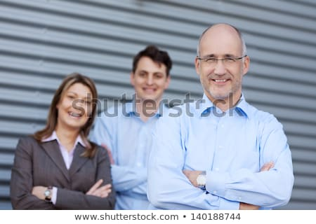 A portrait of three colleagues stock photo © IS2