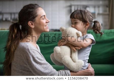 Nino protección juguete tener adopción forma Foto stock © Olena