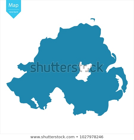 Map with Northern Ireland Stock photo © Ustofre9
