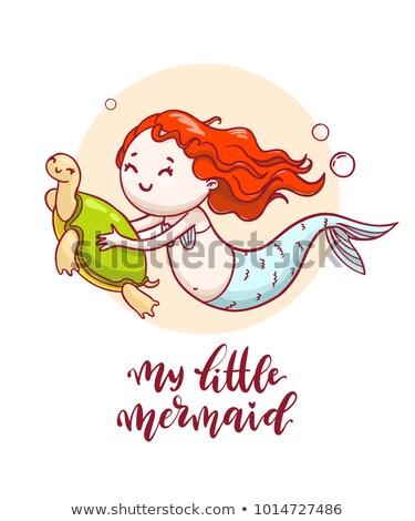 weinig · zeemeermin · meisje · natuur · zee · schoonheid - stockfoto © vasilixa
