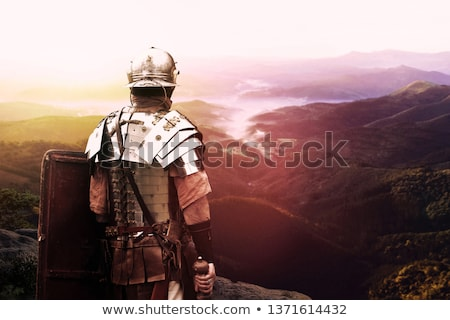 Ancient Roman Soldier Stock photo © Krisdog