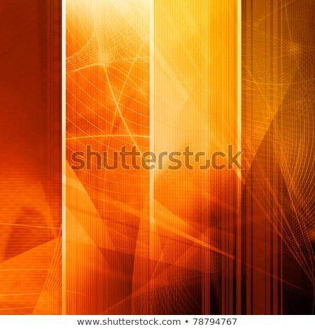 wavy transparent light streak effect background Stock photo © SArts