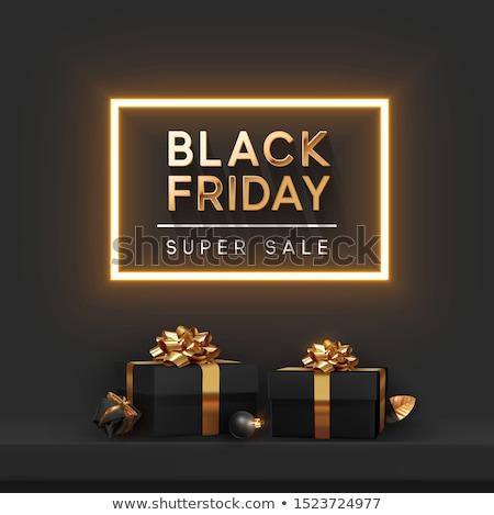 Grande navidad venta anunciante Navidad Foto stock © studioworkstock