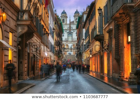 Rome Old Town view Stock photo © joyr