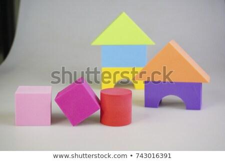 фундаментальный · доске · квадратный · круга · треугольник - Сток-фото © dcwcreations