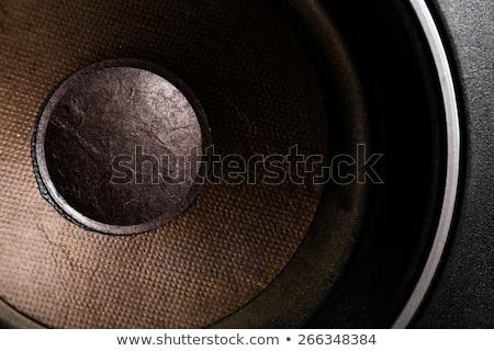 Stockfoto: Detail · achtergrond · muziek · abstract · technologie