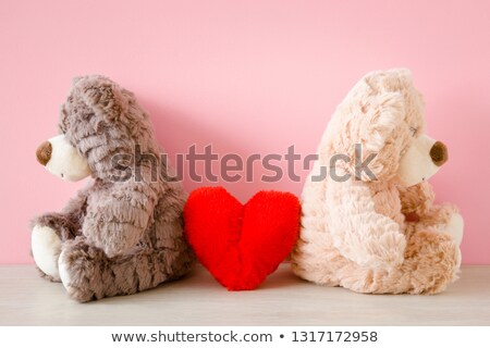 Broken Red Heart Between Sad Couple Stock photo © AndreyPopov