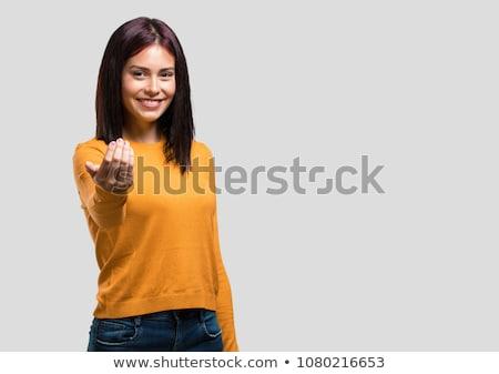 sexual · mulher · roupa · interior · cinza · moda - foto stock © acidgrey