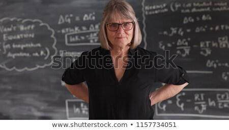 Serious teacher portrait Stock photo © Anna_Om