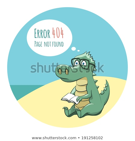 Sad Cartoon Joke Book Stock photo © cthoman