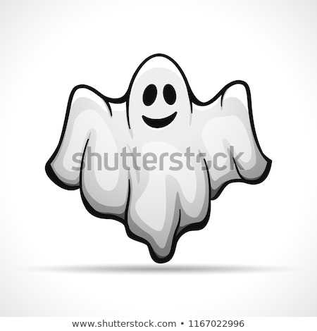 Cartoon spook grappig tekening glimlachend bat Stockfoto © mumut